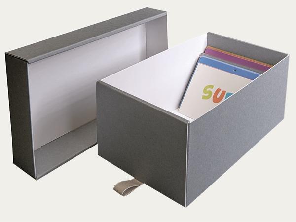Boite Avec Couvercle Separe KS 16 Pour Fiches Et Cartes Postales